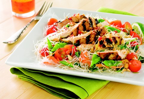 Thai Grilled Chicken Noodle Salad