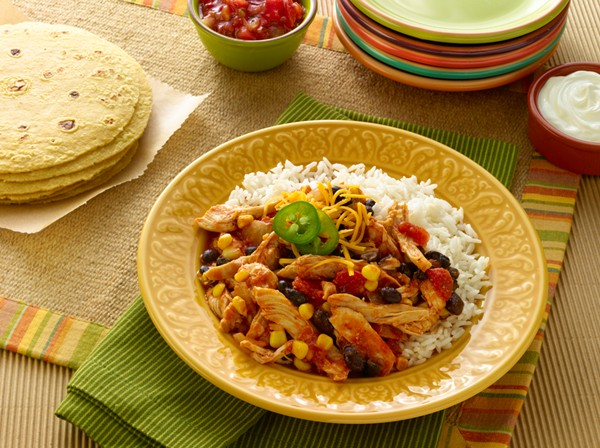Slow Cooker Fiesta Chicken